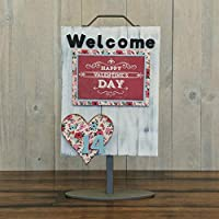 Amazon Com Foundations Decor Welcome Sign Self Adhesive Magnets Diy Home Decorations Craft Kit February Heart Foundations Decor Llc Home Kitchen