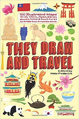 They Draw And Travel 100 Illustrated Maps From China Japan Macau