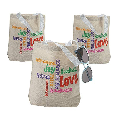 FRUIT OF THE SPIRIT TOTE (1 DOZEN)