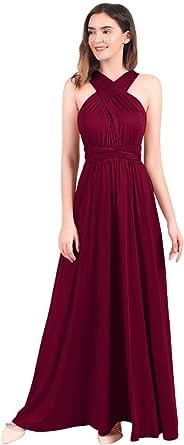 IBTOM CASTLE Womens Transformer Infinity Evening Dresses Maxi Cocktail Wrap Gown Convertible Multi Way Floor Long Dress