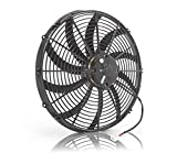 """Be Cool 75042 Euro-Black 16"""" High-Torque Electric Puller Fan"""