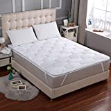 Cheer Collection 3D Air Mattress Topper | Twin Size Breathable Ventilated Air-FLow Cooling Mattress Pad with Elastic Bands to fit 18'' Deep Mattresses