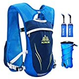 AONIJIE Running Hydration Vest, Hydration Backpack for Women and Men, Lightweight Trail Running Backpack 5.5L