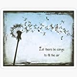 WillettaStore Grateful Dead - Let Their Be Songs to Fill The Air Stickers (3 Pcs/Pack)