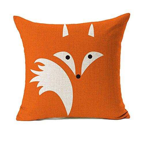 orange-fox-home-decor-throw-pillow-cover-cushion-case-cotton-linen-18-x-18-by-4th-emotion