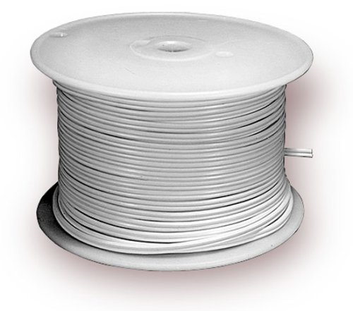 Electrical Lamp Cord In Bulk. 250 Foot Spool Of White Cord. SPT-1 ...