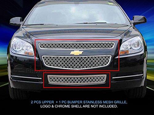 (Fedar Dual Weave Mesh Grille for 2008-2012 Chevy Malibu)