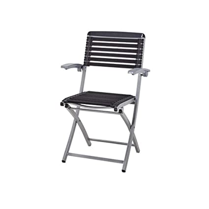 WGXX Silla Plegable Metal Simple Silla Plegable Sillón De ...