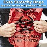 No Leak, Hospital Grade Biohazard Waste Bags 150