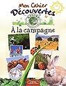 Les Carnets de vacances à la campagne par Collectif
