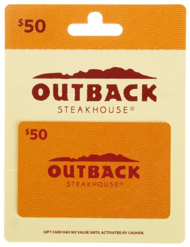 Outback Steakhouse Gift Card $50