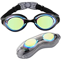 Aegend Swim Goggles, Swimming Goggles of Flat Lense for...