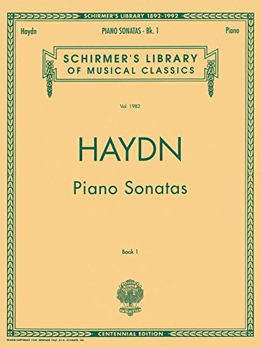 Piano Original Complete Music (Piano Sonatas - Book 1: Schirmer Library of Classics Volume 1982 Piano Solo (Schirmer's Library of Musical Classics))