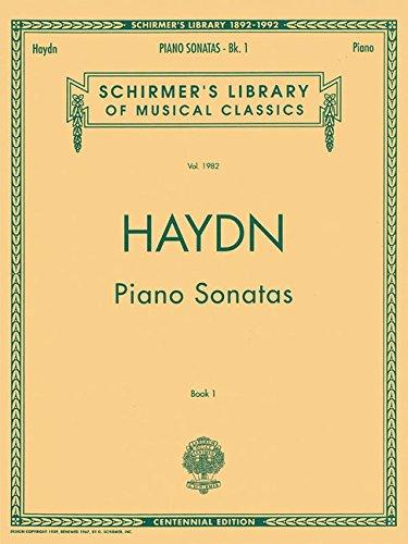Piano Sonatas - Book 1: Schirmer Library of Classics Volume 1982 Piano Solo (Schirmer's Library of Musical Classics) (Haydn Piano Sheet Music)