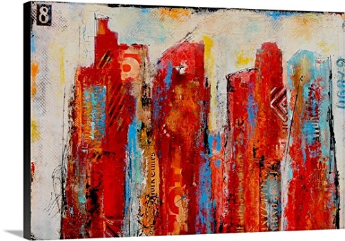 Erin Ashley Gallery-Wrapped Canvas entitled District 8 by greatBIGcanvas