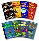 Pratchett 8 Book Set: Night Watch / Truth / Carpe Jugulum / Color of Magic / Fifth Elephant / Light Fantastic / Equal Rights / Thief of Time