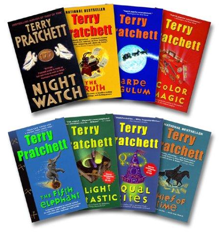 (Pratchett 8 Book Set: Night Watch / Truth / Carpe Jugulum / Color of Magic / Fifth Elephant / Light Fantastic / Equal Rights / Thief of Time)