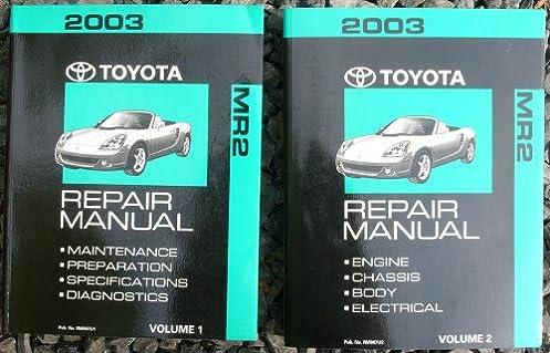 2003 toyota mr2 spyder repair shop manual original amazon com books rh amazon com 2003 toyota mr2 spyder repair shop manual 2000 toyota mr2 spyder repair manual