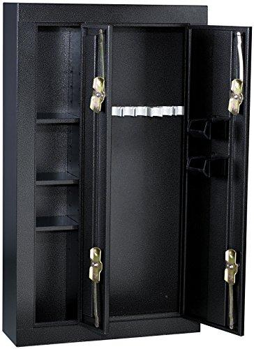 Amazon.com: Homak HS30136028 8-Gun Double Door Security Cabinet ...