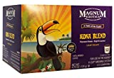 Magnum Taste of the Exotic Kona Blend Coffee, Single Serve, 12 Count