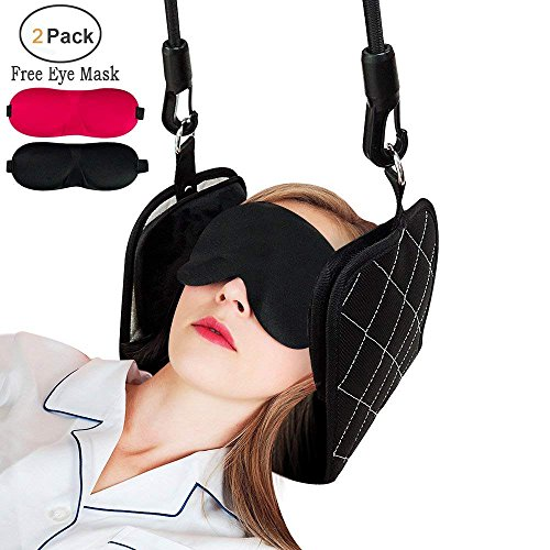 Hammock for Neck Pain Relief, Portable Cervical Neck Traction Hammock Device. Suitable for Neck Relax Chronic Neck and Shoulder Pain Relief by JR.WHITE