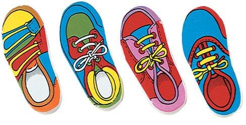 Shoe Eraser - 48 Pieces 7 pcs sku# 1777901MA by Kid Fun (Image #1)