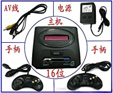 sega Mega Drive 2 Sega game Console System pc game console in box with controller+ac adapter