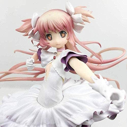 Vbnmda Puella Madoka Magica: Ultime Figurine d'action Madoka modèle Anime Costume Rose de Haute qualité sur 31 cm