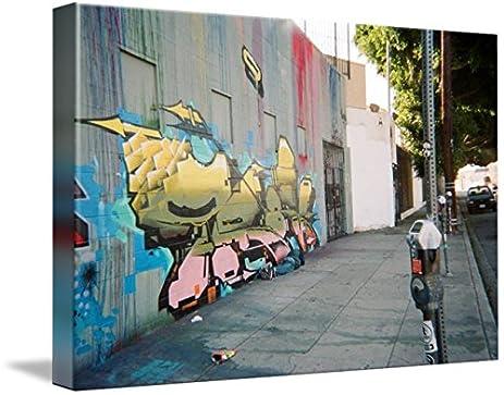 Amazon.com: Wall Art Print entitled Halo Street Art By Gloria ...