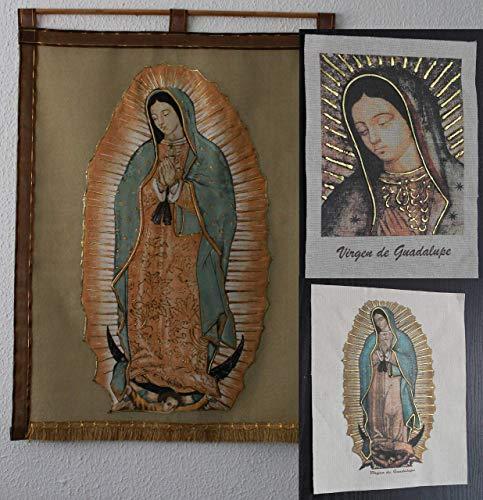 Estandarte e imágenes de la Virgen de Guadalupe paquete 2