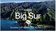 Bootable USB Stick for macOS X Big Sur 11 - Full OS Install, Reinstall, Recovery and Upgrade