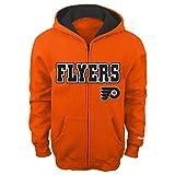 NHL Philadelphia Flyers 8-20 Boys Sportsman Full Zip Fleece Hoodie