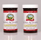 Cheap Nature's Sunshine Kidney Activator, Chinese Herbal Supplement Support Kidney and Lymphatic 100 Capsules Each(pack of 2)