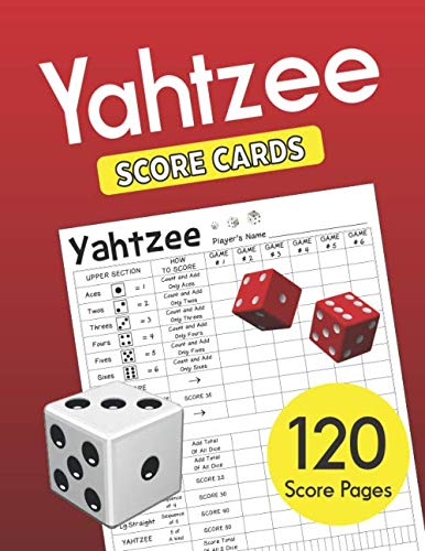 Yahtzee Score Cards: Clear Printing with Correct