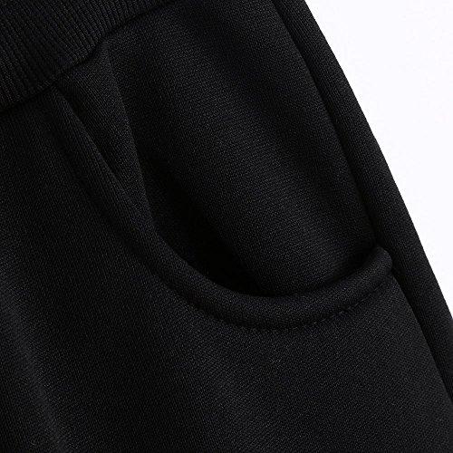 Spbamboo Mens Pants Slacks Casual Elastic Joggers Sport Baggy Pockets Trousers by Spbamboo (Image #3)