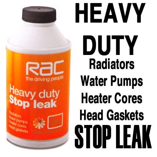 Stop Leak Spray Home Depot : Rac car van radiator heavy duty stop leak sealer repair by