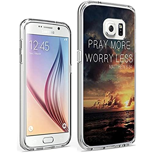 S7 Case Hard PC Cover Protective Case for Samsung Galaxy S7 Bible Verse Mattew 6:34 Sales
