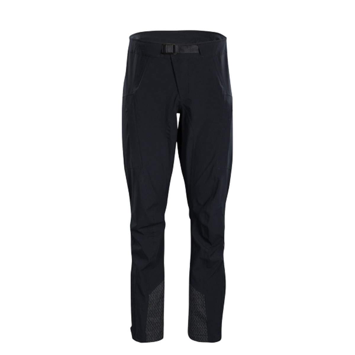 SUGOi レジスタントパンツ メンズ B07JMNMHTW Large|Black Zap Black Zap Large