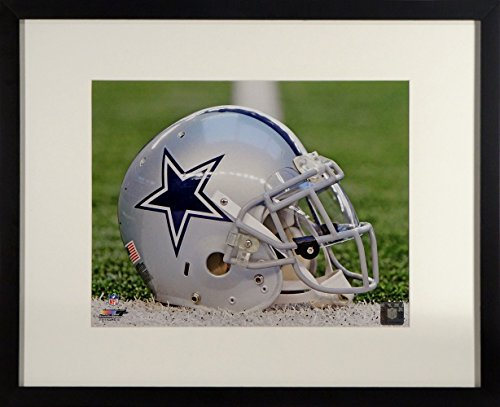 "(Dallas Cowboys ""America's Team"" Helmet 8x10 Photograph (SGA UnderFifty Series) Framed)"