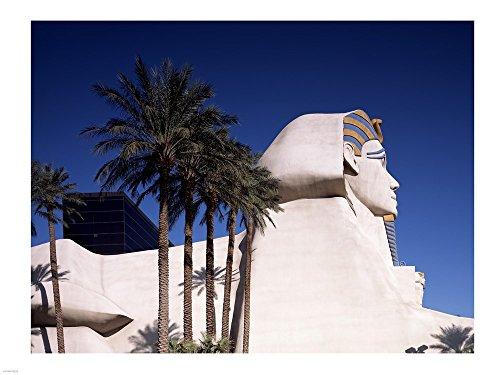 Dramatic Sphynx at The Luxor Hotel Casino in Las Vegas Excalibur Hotel Turets, Las Vegas, Nevada Art Print, 27 x 20 inches