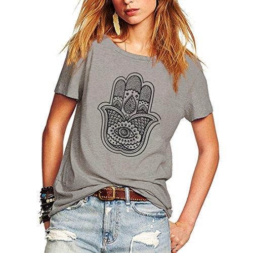Weigou Woman T Shirt Short Sleeve Street Style Hand Printed T-Shirt Casual Junior Tops Tees
