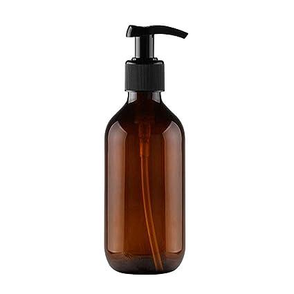 500ml Dispensador de jabón Opaco Dispensador de jabón multifunción Sin Goteo Emulsión Contenedor Botella de champú