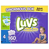 Health & Personal Care : Luvs Ultra Leakguards Diapers, Size 4, 160 Count by Luvs