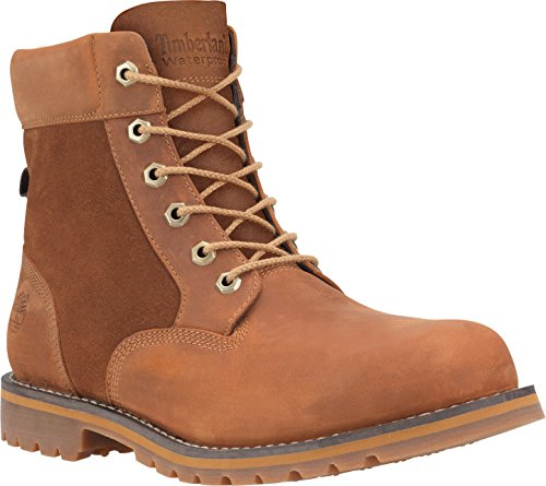 Timberland Larchmont FTM_Larchmont 6in WP Boot Herren Kurzschaft Stiefel Medium Brown