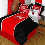 NBA Chicago Bulls Twin Sidelines Comforter and Sheets