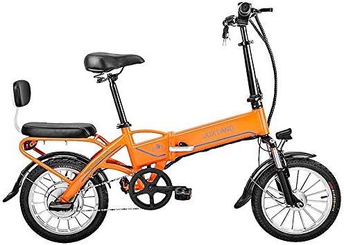 Bicicleta eléctrica plegable, con batería extraíble de iones de ...