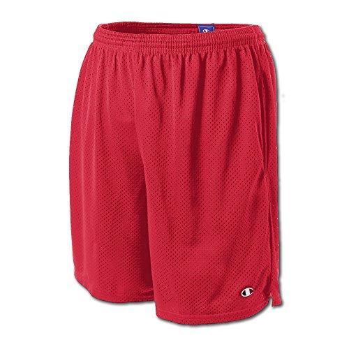 Champion Mens Long Mesh Shorts with