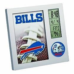 NFL Buffalo Bills Digital Desk Clock