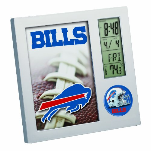 NFL Buffalo Bills Digital Desk - Clock Bills Buffalo