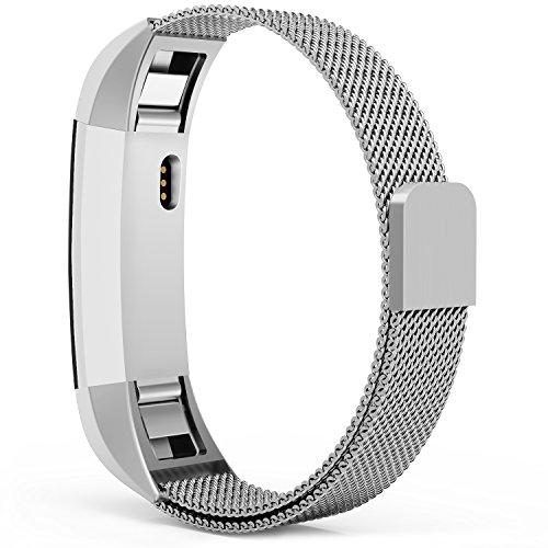 xinkeji xinkeji-001 Fitbit Alta Hr. and Bands, Xinkeji Milanese Loop Stainless Steel Metal Replacement Wristbands...